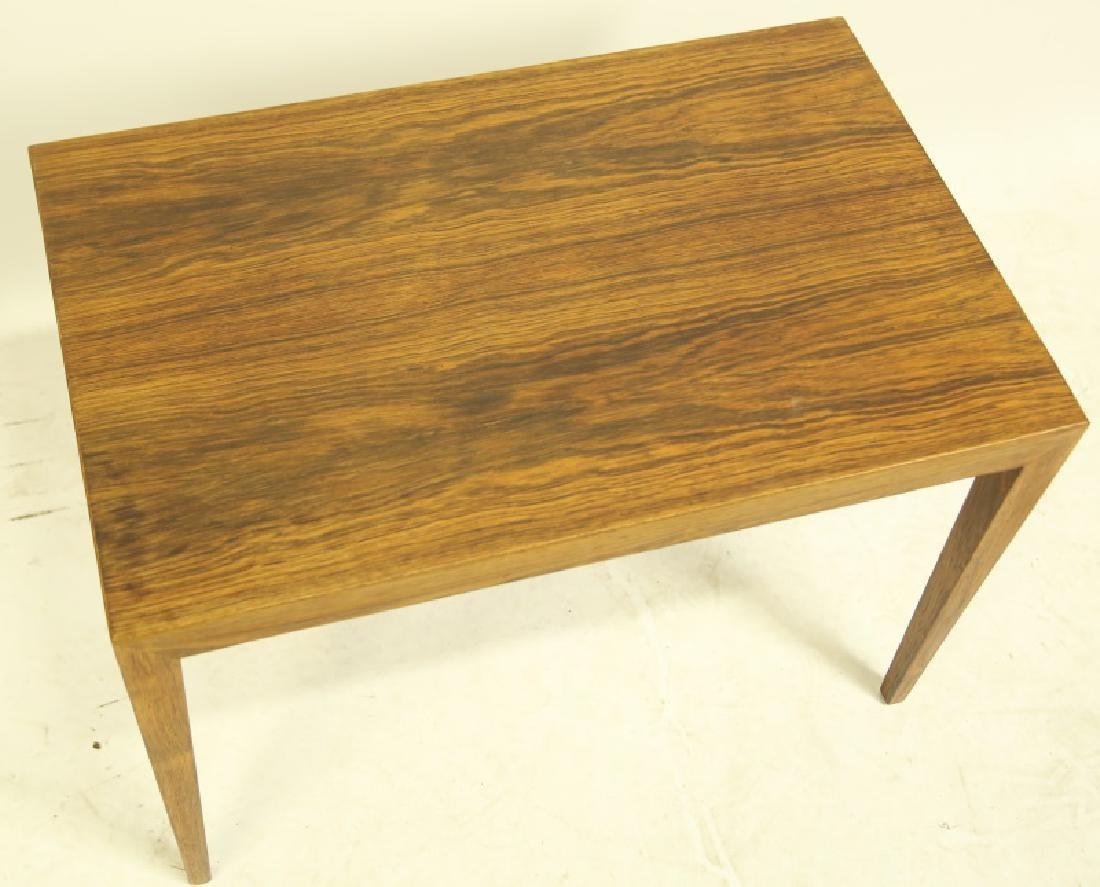 SEVERN HANSEN SIDE TABLE BY HASLEV MOBELSNEDKEN - 2