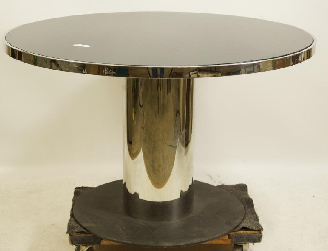CONTEMPORARY ROUND CENTER TABLE