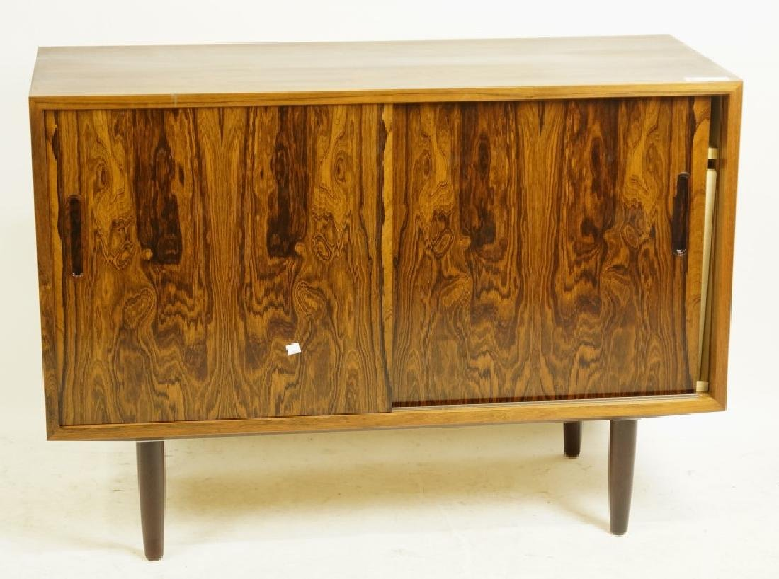 HUNDEVAD MOBEL ROSEWOOD CONSOLE CABINET