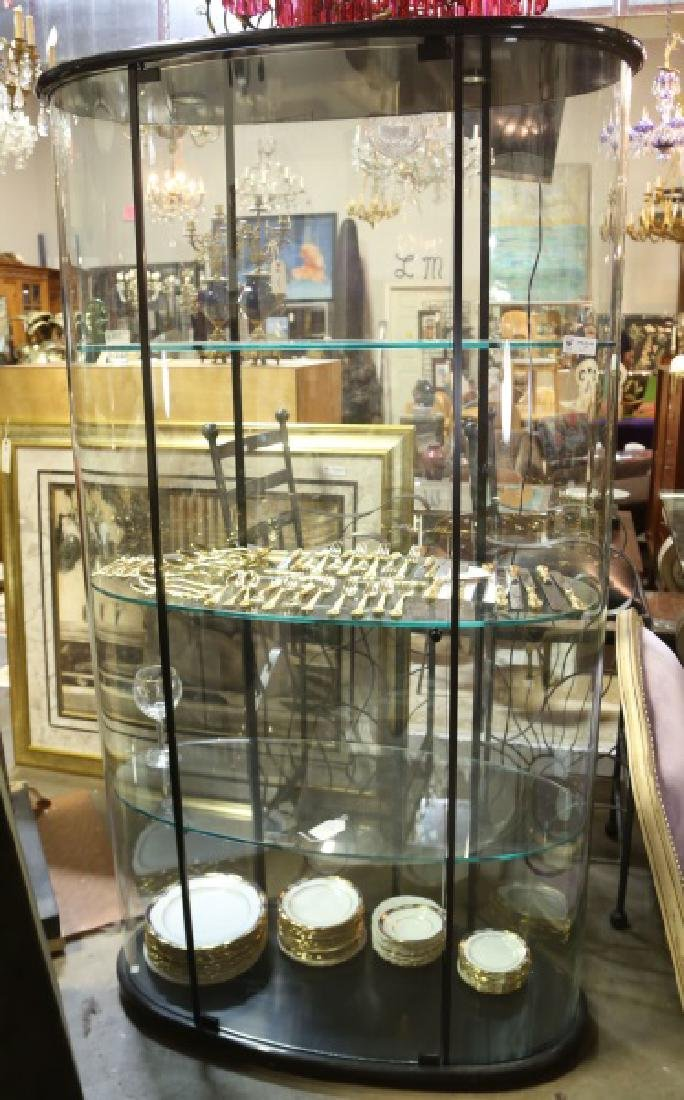 OVAL DISPLAY CASE