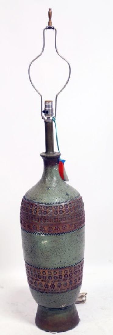 1950's STYLE CERAMIC LAMP
