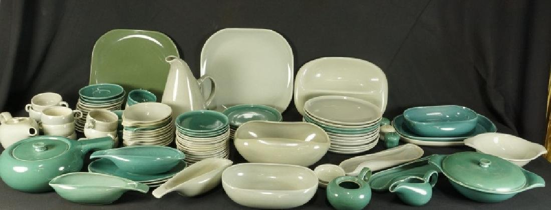 SET OF RUSSEL WRIGHT POTTERY CHINA. 93 PIECES TOTA