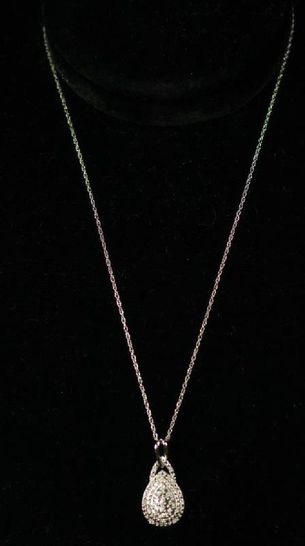 (1) LARGE DIAMOND ESTATE NECKLACE