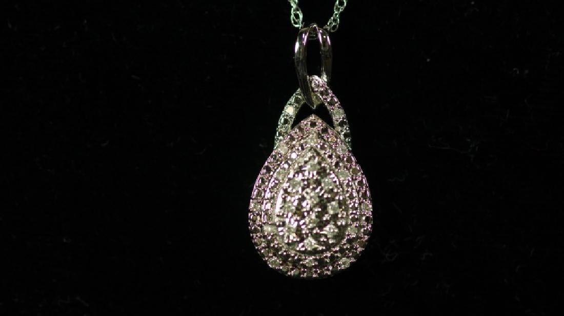 (1) LARGE DIAMOND ESTATE NECKLACE - 2