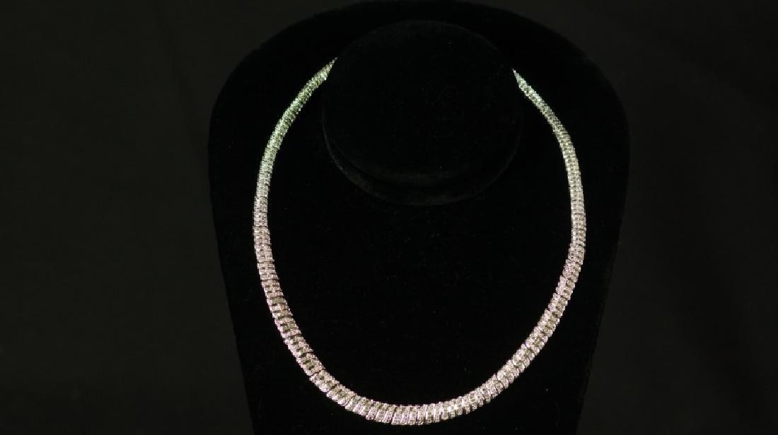 (6) 2 Ct. DIAMOND ETERNITY NECKLACE