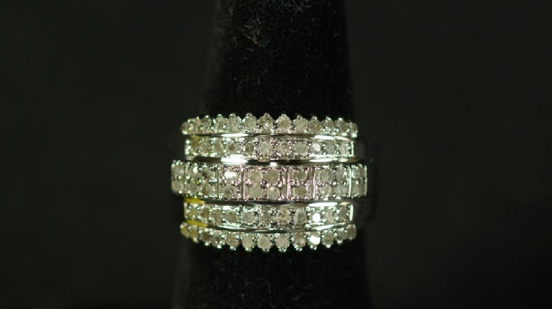 (8) 1 Ct. DIAMOND DINNER RING