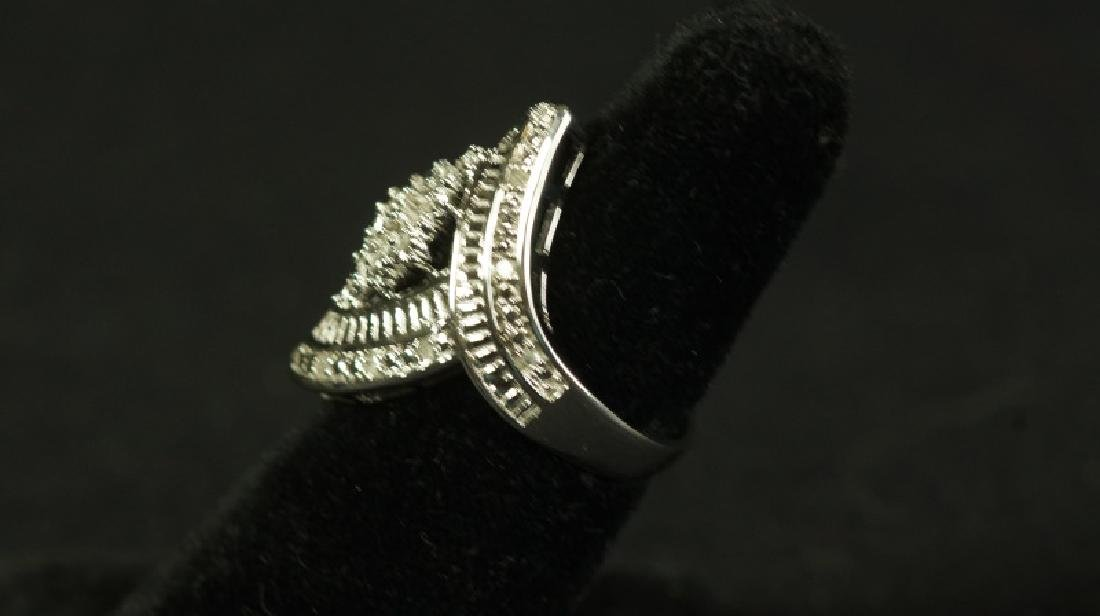 (14) LARGE MARQUISE DIAMOND RING - 2