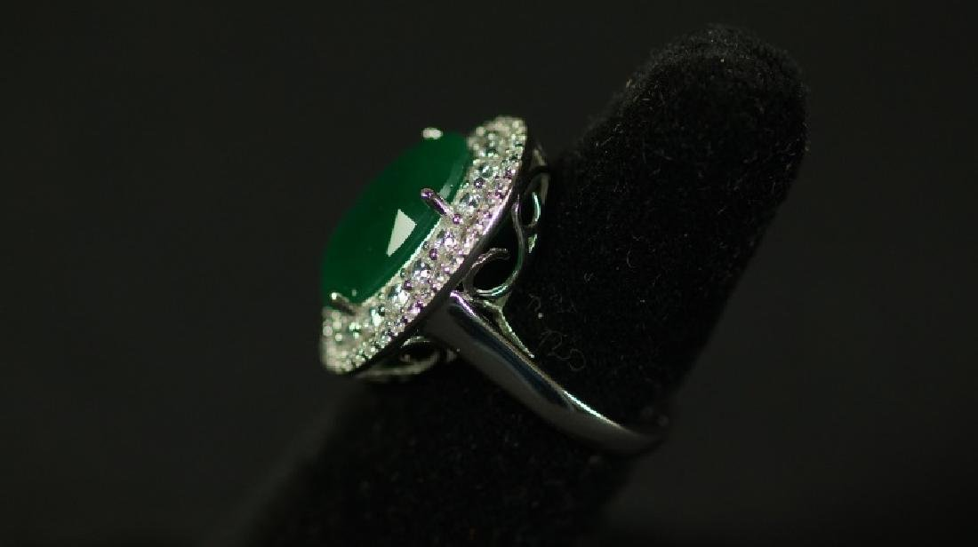 (19) 8.12 Ct. EMERALD DINNER RING - 2