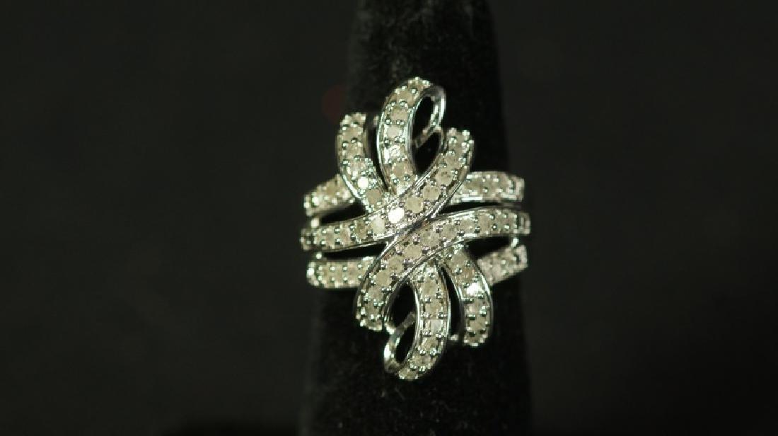 (26) 1 Ct. DIAMOND DINNER RING