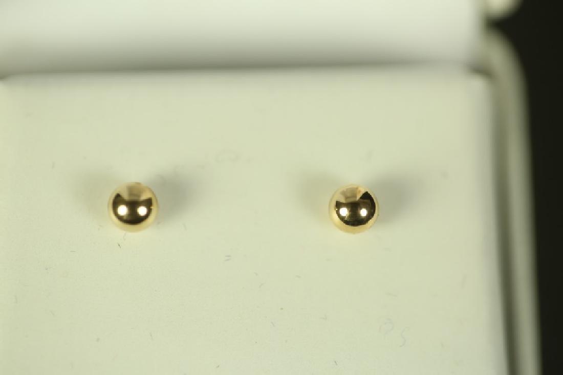 (30) 14 Kt. YELLOW GOLD EARRINGS