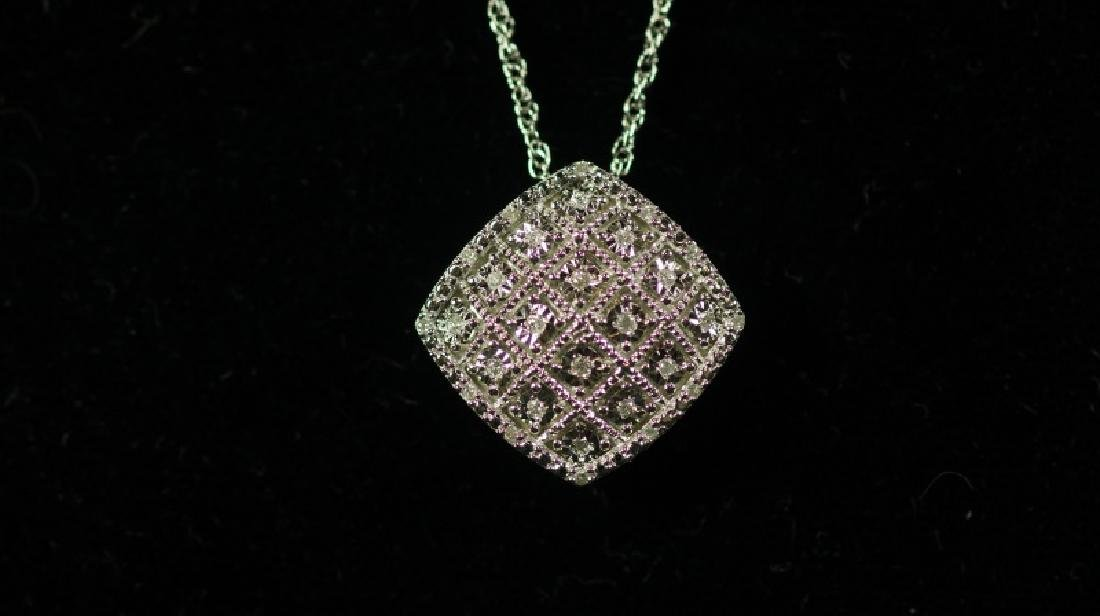 (54) LARGE DIAMOND ESTATE NECKLACE - 2