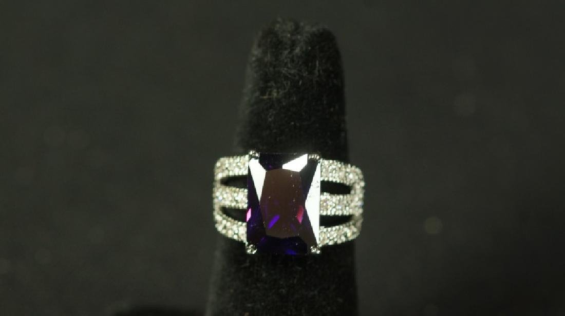 (59) 4.0 Ct. AMETHYST DINNER RING
