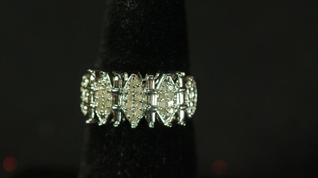 (61) LARGE DIAMOND DINNER RING