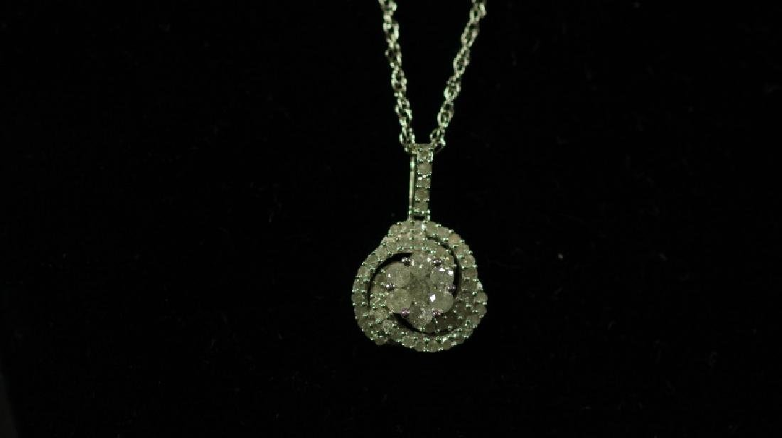(65) DIAMOND NECKLACE - 2