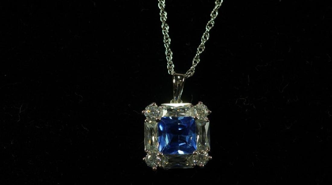 (74) MATCHING TANZANITE NECKLACE - 2