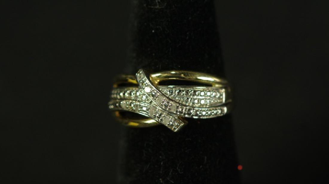 (93) DIAMOND DINNER RING