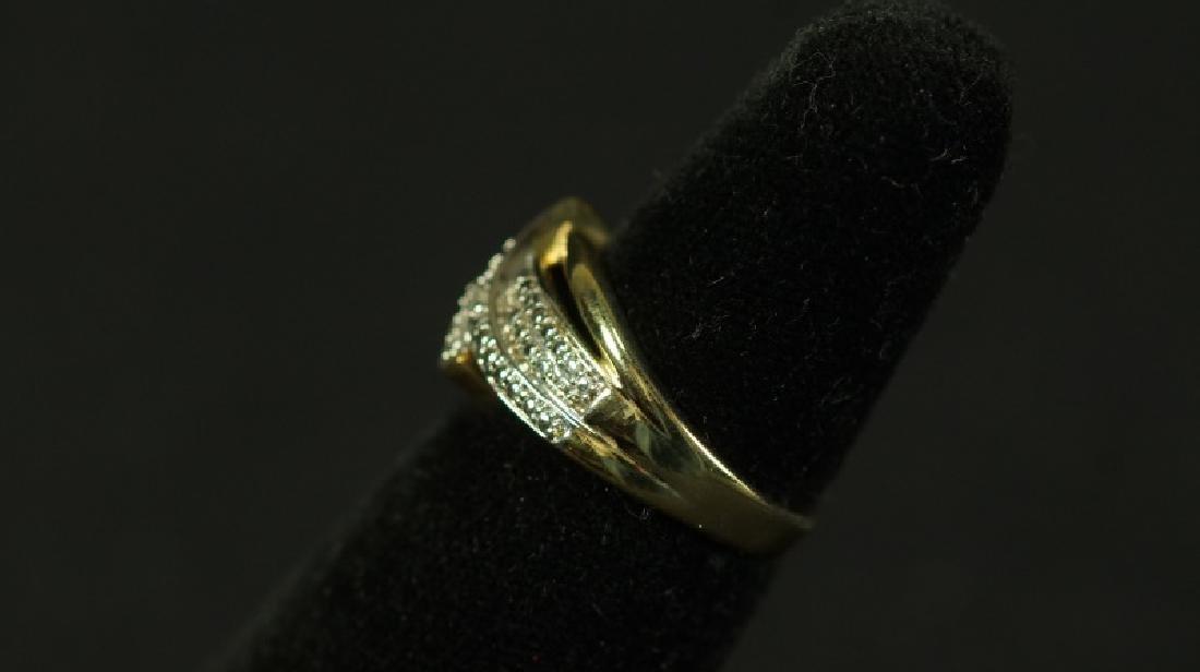 (93) DIAMOND DINNER RING - 2