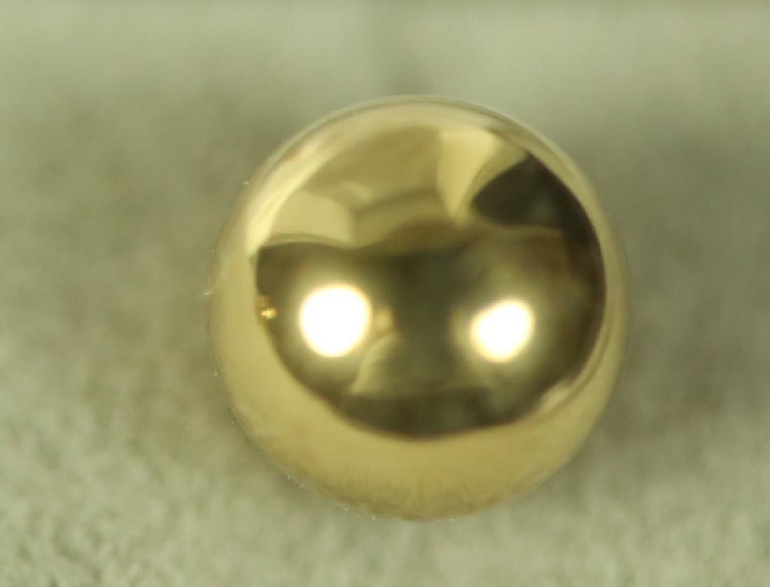(150) 14 Kt. YELLOW GOLD STUD EARRINGS - 2