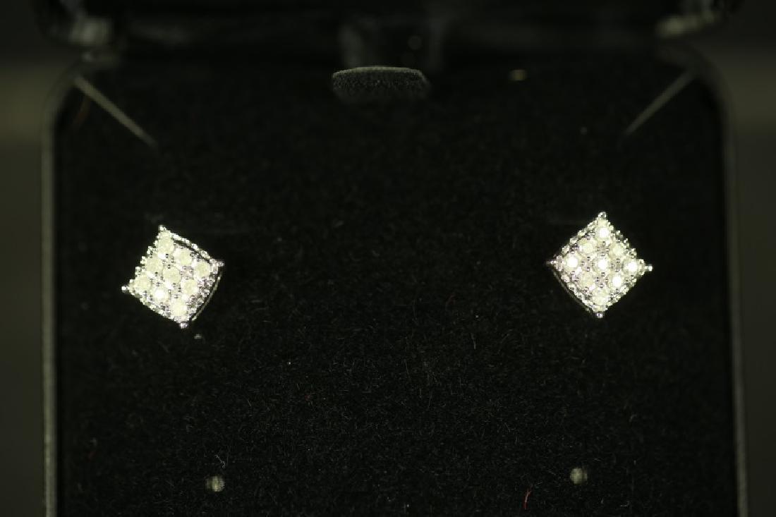 (184) DIAMOND EARRINGS