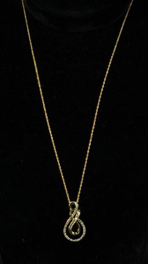 (193) DIAMOND ESTATE NECKLACE