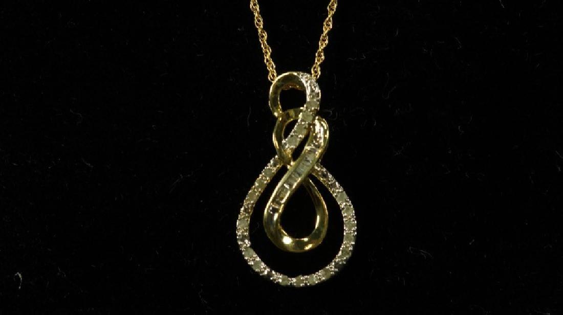 (193) DIAMOND ESTATE NECKLACE - 2