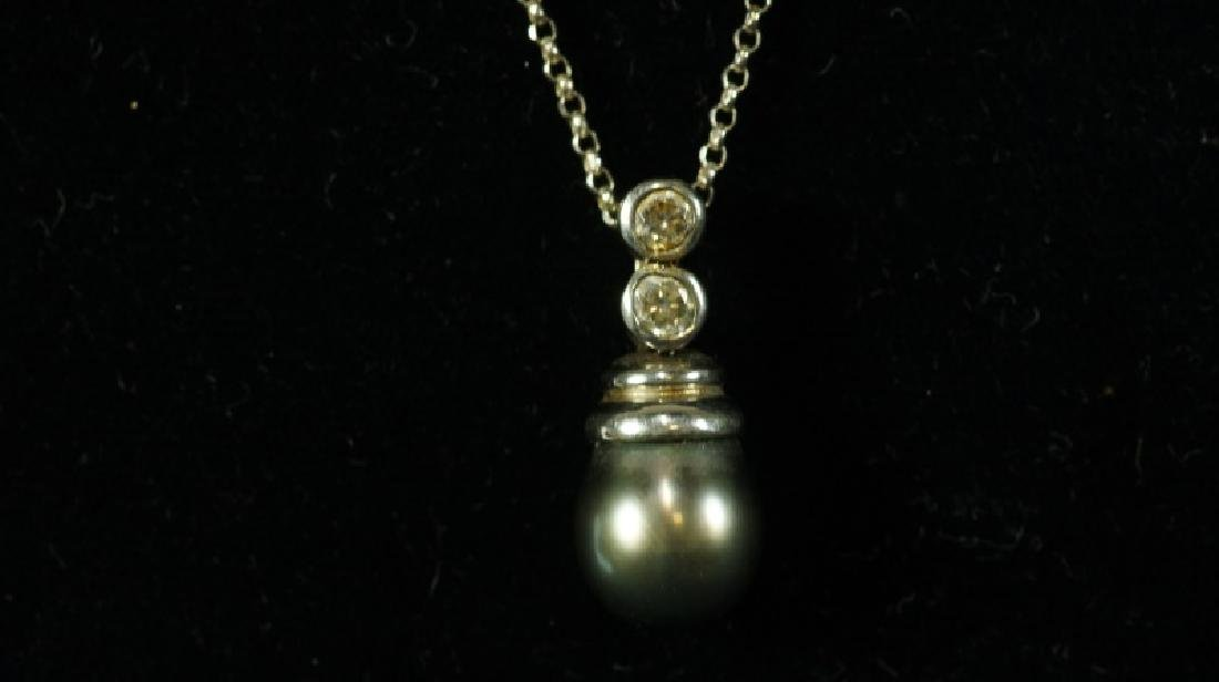 (40D) TAHITIAN PEARL ESTATE NECKLACE - 2