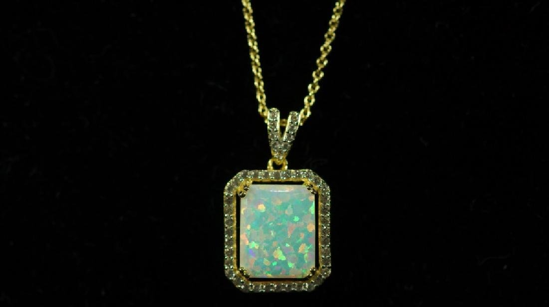 (45E) OPAL DINNER NECKLACE - 2