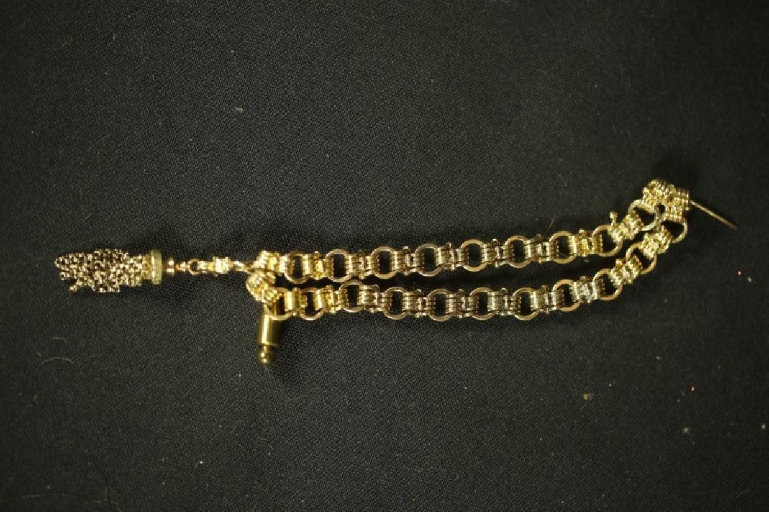 ANTIQUE 14 KT GOLD PENDANT - 2