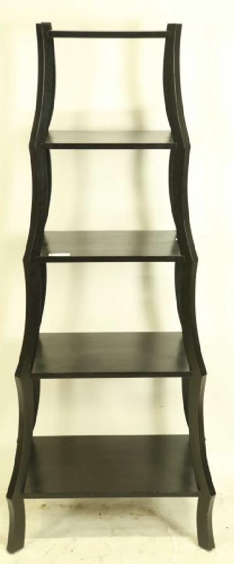 CONTEMPORARY FIVE-SHELF ETAGERE - 2