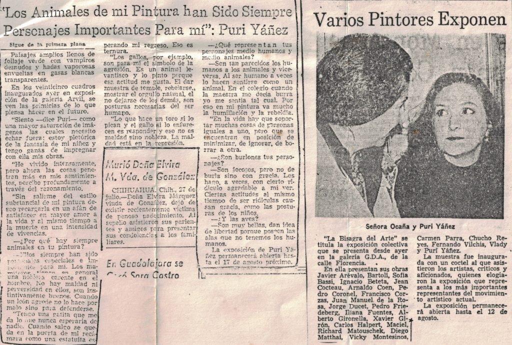 "PURI YANEZ ""MI ALMA ES UN LABERINTO DONDE TRISTE - 6"