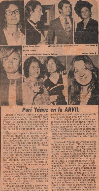 "PURI YANEZ ""MI ALMA ES UN LABERINTO DONDE TRISTE - 7"