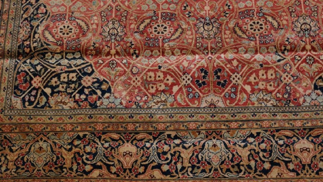 ANTIQUE HAND KNOTTED PERSIAN  RUG - 4