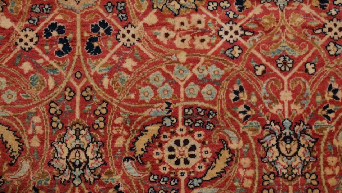 ANTIQUE HAND KNOTTED PERSIAN  RUG - 5