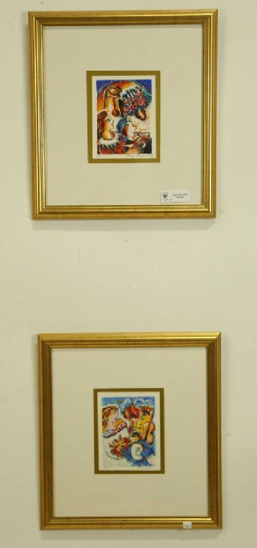 TWO ZAMY STEYNOVITZ ARTIST PROOFS