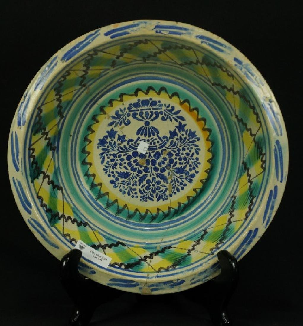 17th CENTURY ITALIAN MAJOLICA BOWL