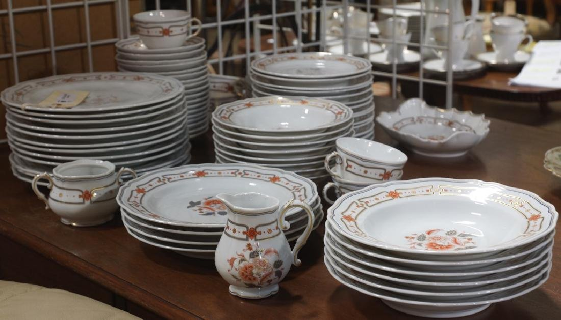 MIXED LOT 90-PIECES OF DINNERWARE CHINA