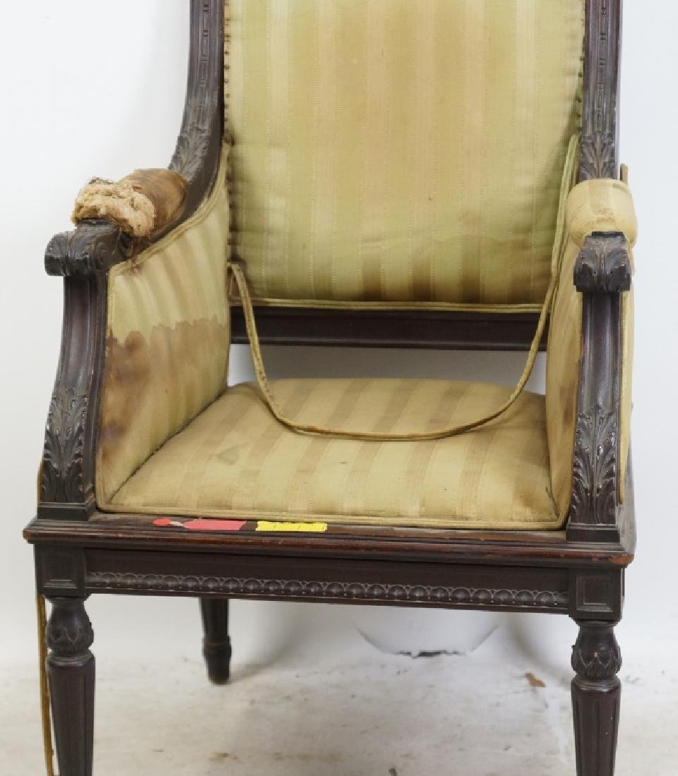 19th CENTURY FRENCH ARMCHAIR - 2