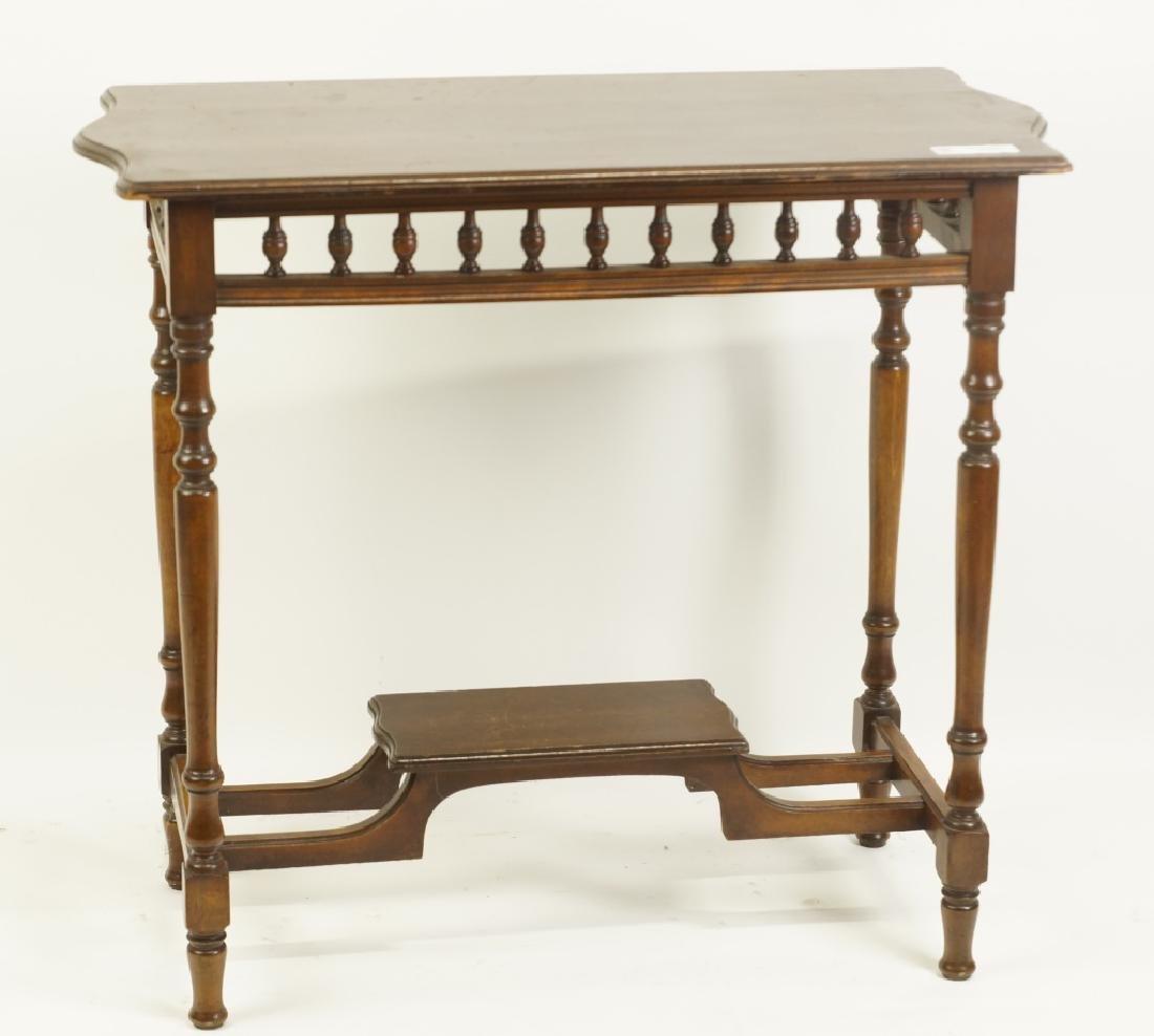 VICTORIAN MAHOGANY SIDE TABLE
