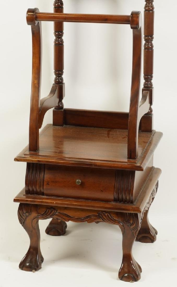 CHIPPENDALE STYLE VALET STAND - 3