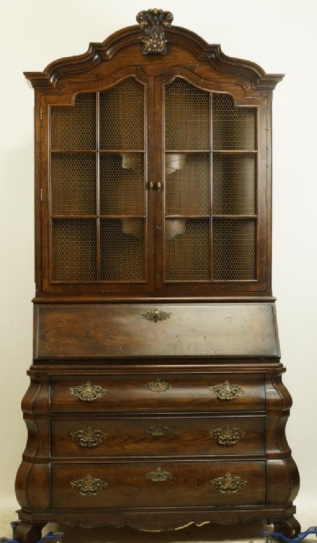 HENREDON COUNTRY FRENCH STYLE FALL FRONT DESK