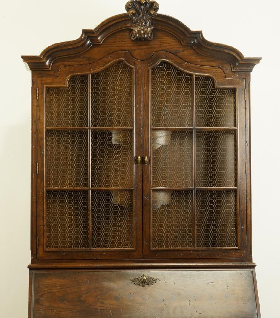 HENREDON COUNTRY FRENCH STYLE FALL FRONT DESK - 2