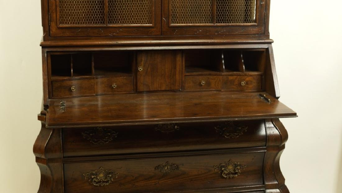 HENREDON COUNTRY FRENCH STYLE FALL FRONT DESK - 3