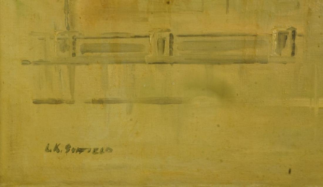 "L.K. SUFFIELD ""UNTITLED"" WATERCOLOR - 4"