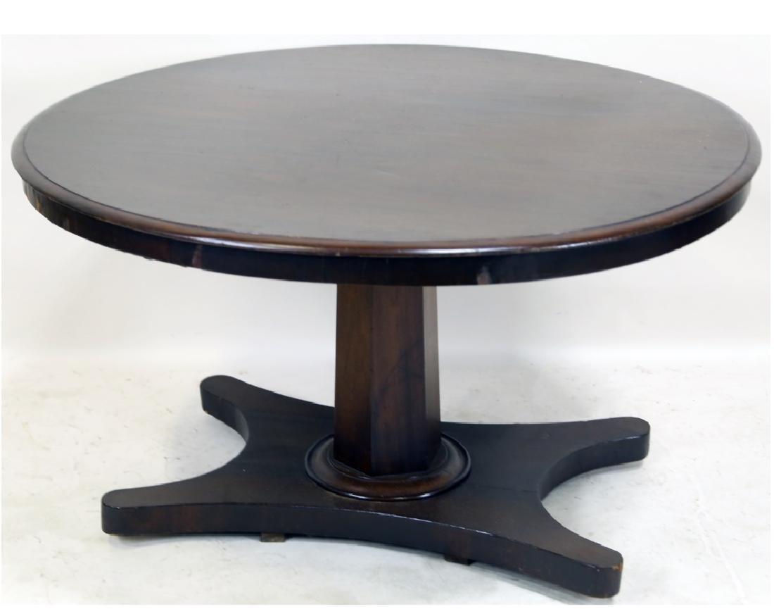 ROUND EMPIRE PEDESTAL TABLE