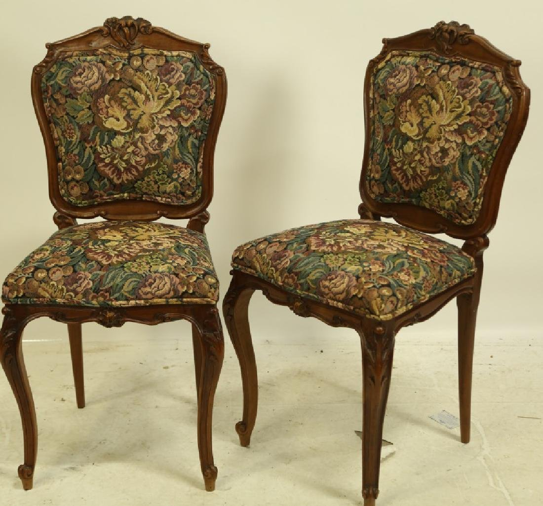 SET OF SIX 19th CENTURY FRENCH SIDE CHAIRS