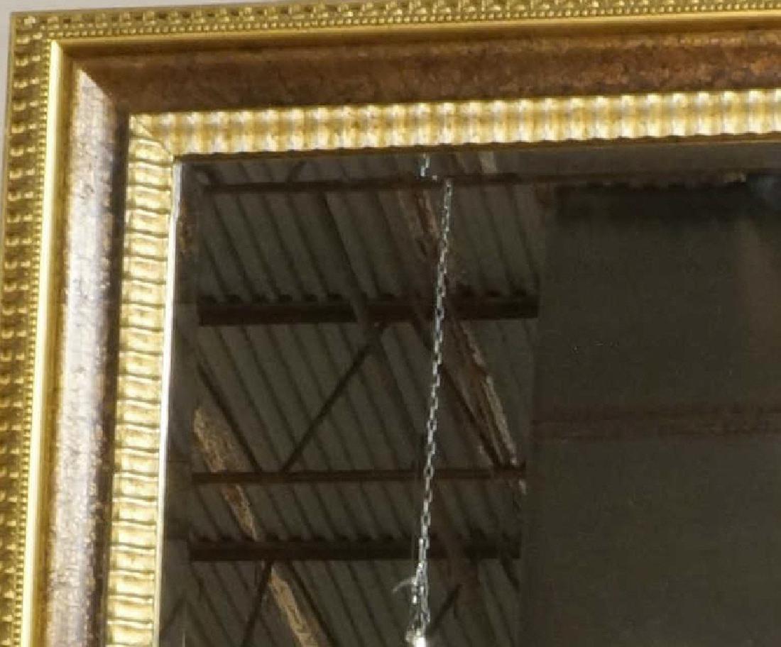 MONUMENTAL GILT FRAMED BEVELED GLASS MIRROR - 2