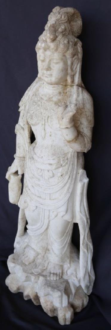 19th CENTURY PRAJNAPARAMITA BUDDHA SCULPTURE
