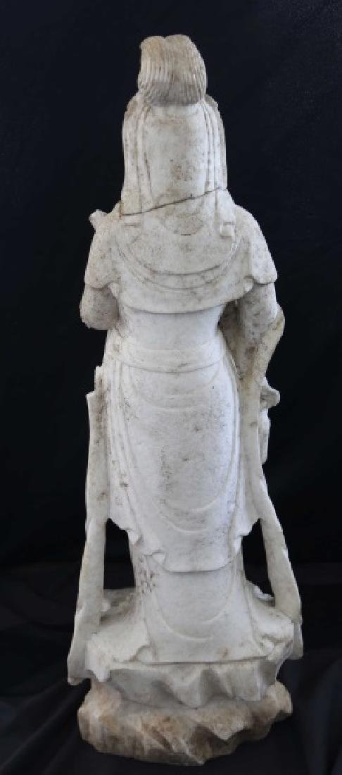 19th CENTURY PRAJNAPARAMITA BUDDHA SCULPTURE - 3