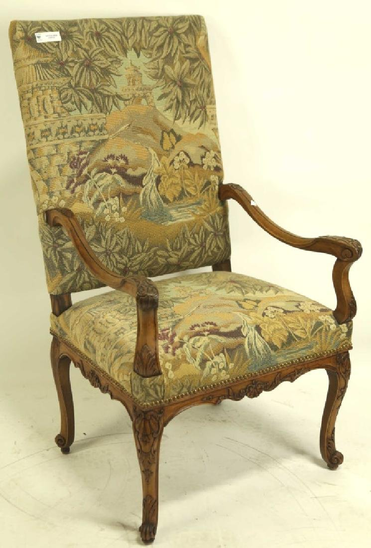 ANTIQUE FRENCH REGENCY ARMCHAIR