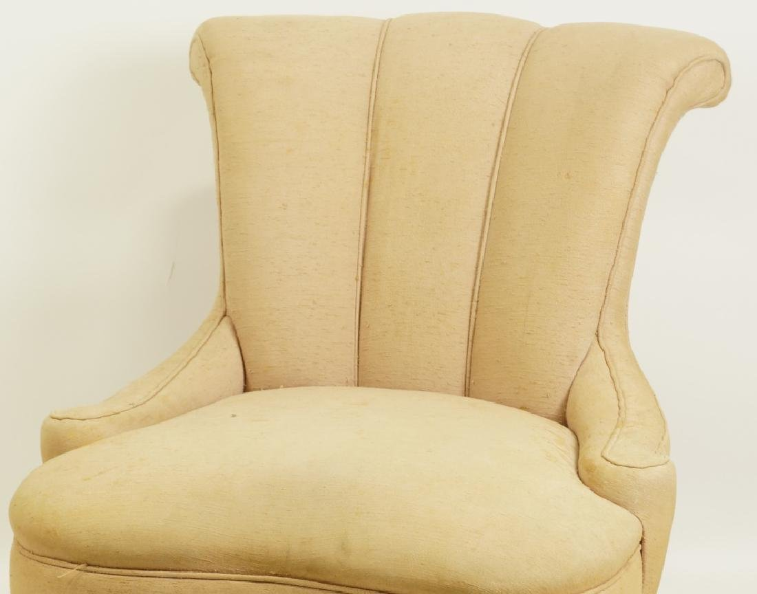 1940's CHANNEL BACK SIDE CHAIR - 2